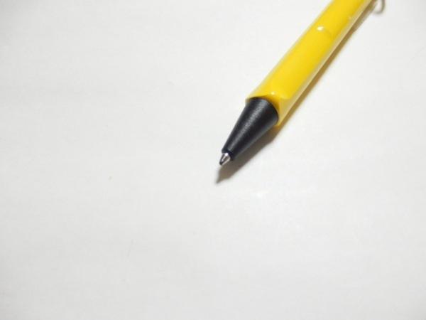 ラミー ボールペン美品  イエロー×黒×シルバー プラスチック×ラバー×金属素材