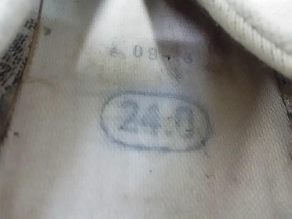 SOU・SOU(ソウソウ) 靴 24.0 メンズ アイボリー×黒 足袋 キャンバス