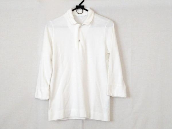 Umii 908(ウミ908) 長袖ポロシャツ サイズ2 M レディース アイボリー