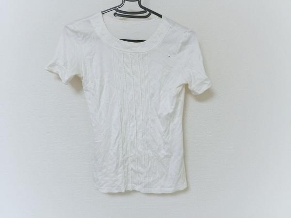 Aquascutum(アクアスキュータム) 半袖Tシャツ レディース アイボリー