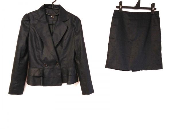 Swingle(スウィングル) スカートスーツ サイズ1 S レディース 黒