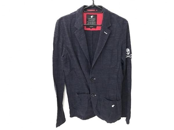 LOVELESS(ラブレス) ジャケット サイズ1 S メンズ ネイビー スカル/夏物