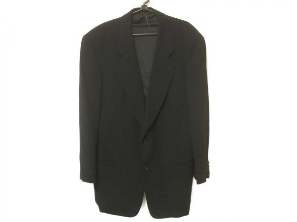 GIORGIOARMANI(ジョルジオアルマーニ) ジャケット サイズ50 M メンズ 黒 肩パッド