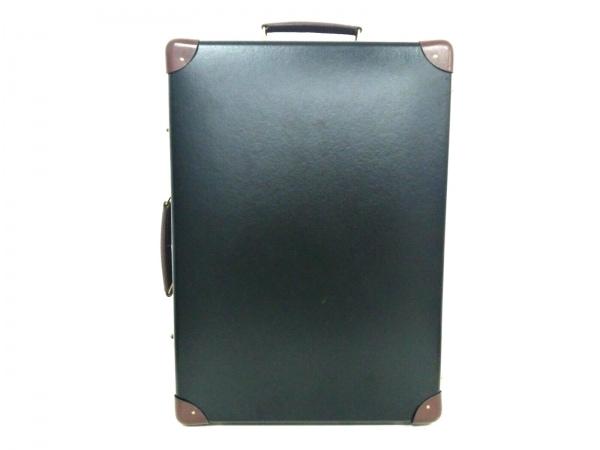 グローブトロッター キャリーバッグ 18インチ トロリーケース 黒×ダークブラウン