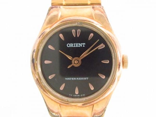 ORIENT(オリエント) 腕時計 UB5M-R0 レディース 黒
