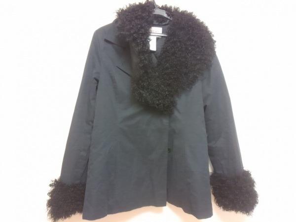 GIVENCHY(ジバンシー) コート サイズ40 M レディース 黒 冬物/BOUTIQUES