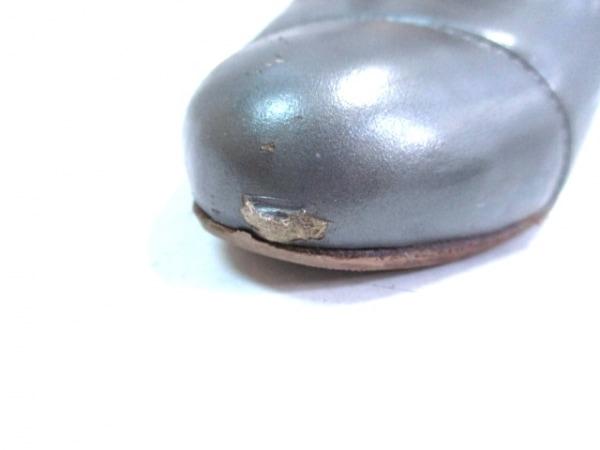 コールハーン パンプス 7 B レディース ダークグレー アウトソール張替済 レザー
