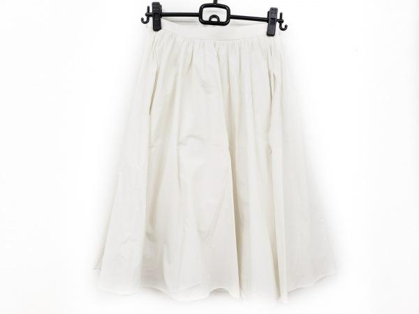 マッキントッシュフィロソフィー スカート サイズ38 L レディース美品  白