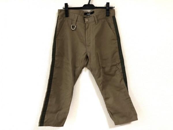PLEIN(プレーン) パンツ サイズ2 M メンズ新品同様  ベージュ×カーキ