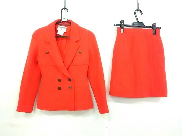CHANEL(シャネル) スカートスーツ サイズ38 M レディース オレンジ
