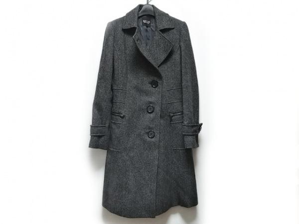 SONIARYKIEL(ソニアリキエル) コート サイズ38 M レディース 黒×アイボリー 冬物