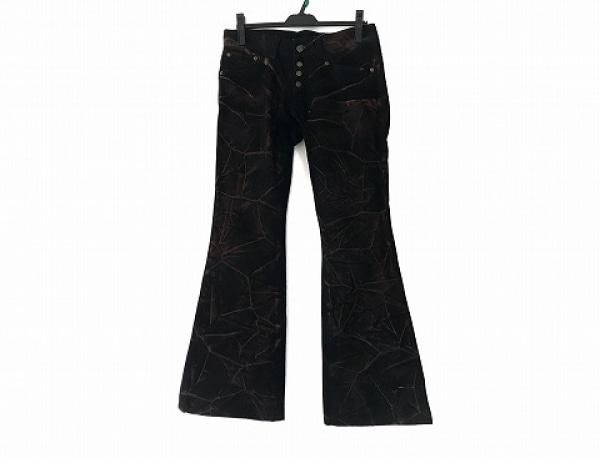 TORNADO MART(トルネードマート) ジーンズ サイズM メンズ 黒×レッド ペイント加工