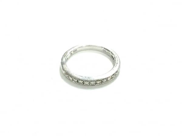 PonteVecchio(ポンテヴェキオ) リング K18WG×ダイヤモンド 11Pダイヤ/0.09カラット