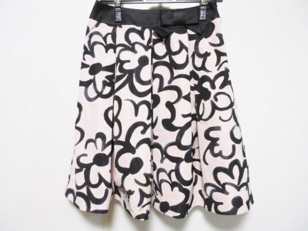 M'S GRACY(エムズグレイシー) スカート サイズ38 M レディース ベージュ×黒 リボン