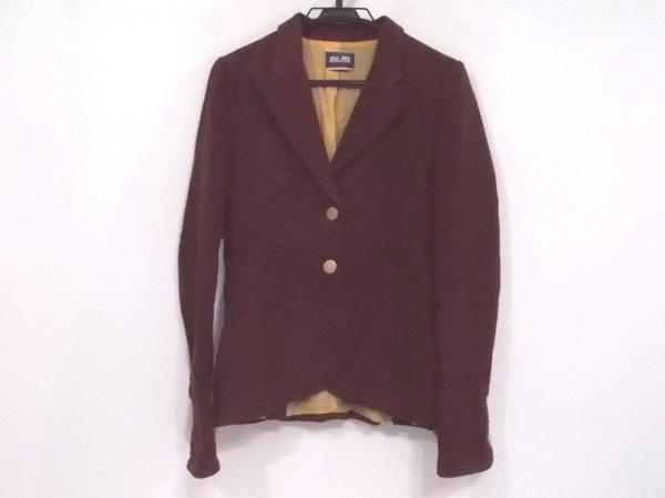 ジーンズポールゴルチエ ジャケット サイズ42 L レディース ダークブラウン