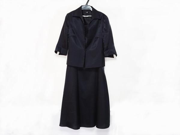 23区(ニジュウサンク) ワンピーススーツ サイズ38 M レディース 黒