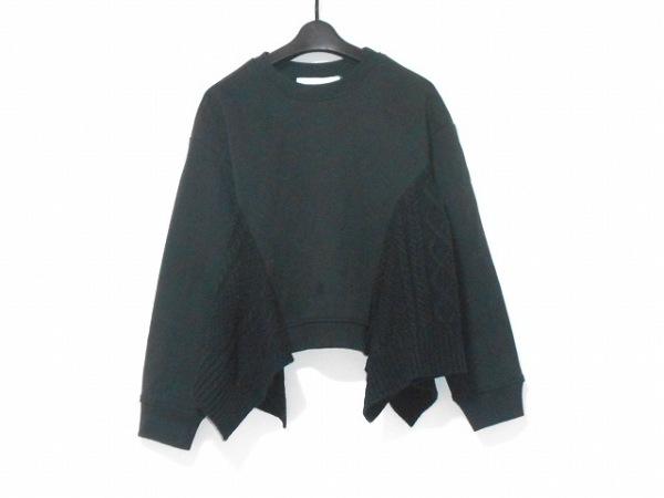 LE CIEL BLEU(ルシェルブルー) 長袖カットソー サイズ36 S レディース 黒