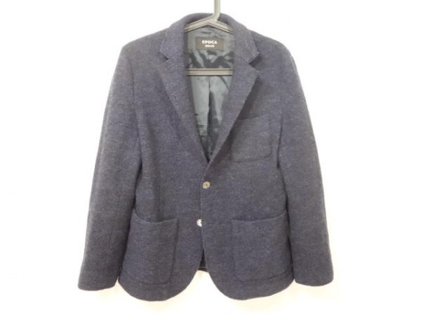 EPOCA(エポカ) ジャケット サイズ46 XL メンズ美品  ネイビー