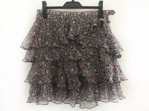 バウムウンドヘルガーデン スカート サイズ38 M レディース美品  シルク