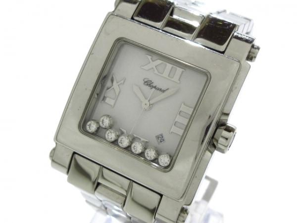 Chopard(ショパール) 腕時計 ハッピースポーツ スクエア 278496-3001 メンズ 白