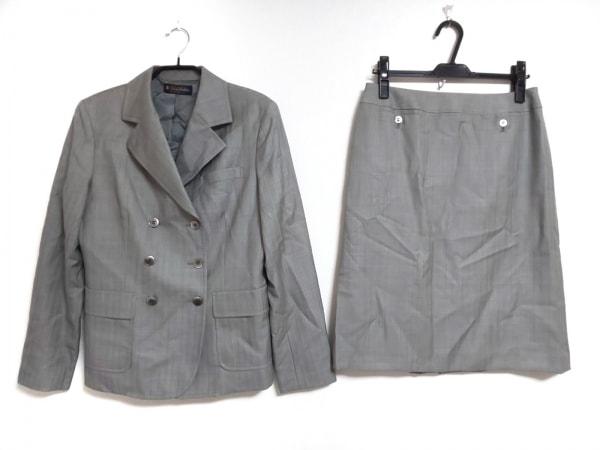 BrooksBrothers(ブルックスブラザーズ) スカートスーツ サイズ13 L レディース グレー