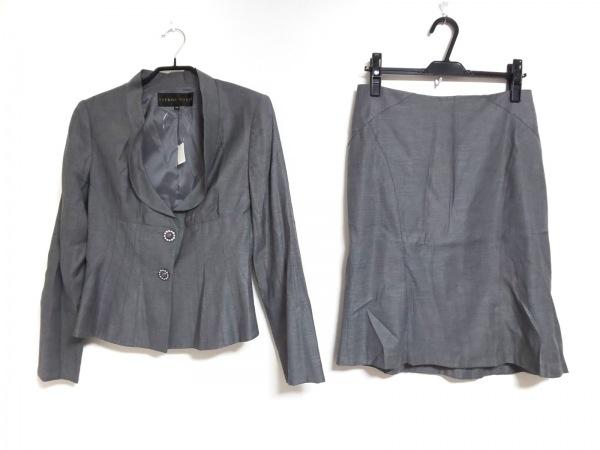 CITRUS NOTES(シトラスノーツ) スカートスーツ サイズ40 M レディース グレー