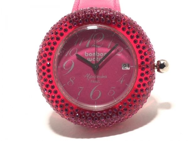BONBONWATCH(ボンボンウォッチ) 腕時計 - レディース Alexandra ピンク