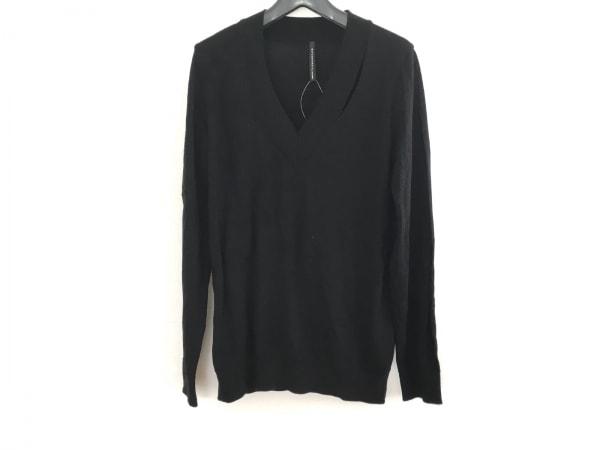 ブラックバレットバイニールバレット 長袖セーター レディース美品  黒