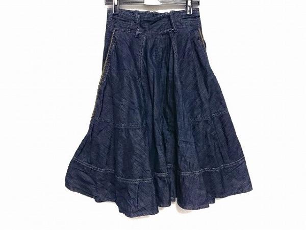 ディーゼル ロングスカート サイズ25 XS レディース美品  CIRANDA ネイビー デニム