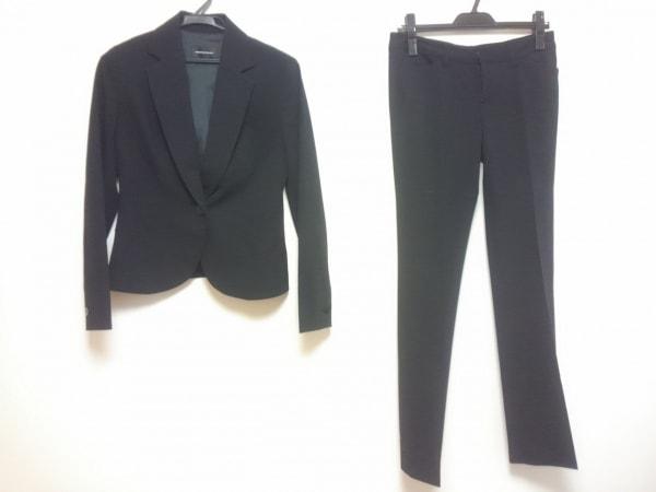 QUEENS COURT(クイーンズコート) レディースパンツスーツ サイズ2 M レディース 黒