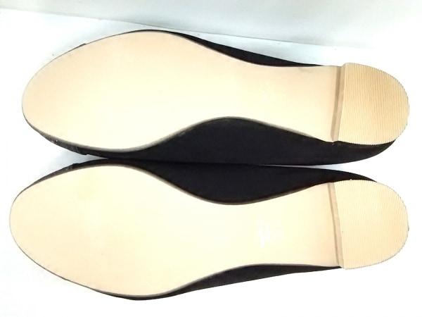 ボアソン ショコラ パンプス 25.0 レディース美品  黒×グレー ナイロン