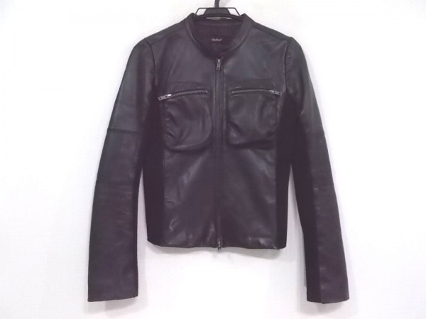 ambient(アンビエント) ライダースジャケット サイズ1 S レディース新品同様  黒