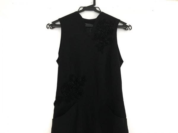 アルベルタ・フェレッティ ワンピース レディース美品  黒 フラワー/ビーズ