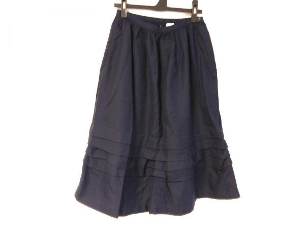 トリココムデギャルソン スカート サイズS レディース ネイビー