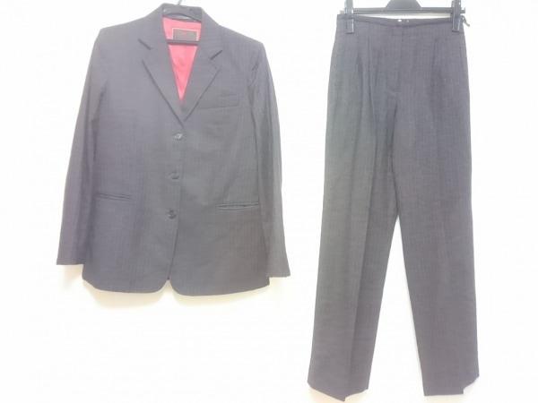 ETRO(エトロ) レディースパンツスーツ レディース ダークグレー×レッド×白