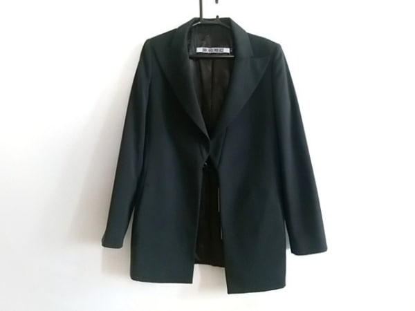 DIRK BIKKEMBERGS(ダークビッケンバーグ) ジャケット サイズ42 L レディース美品  黒