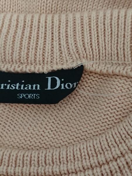 ChristianDiorSports(クリスチャンディオールスポーツ) 長袖セーター メンズ ベージュ
