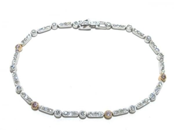 PonteVecchio(ポンテヴェキオ) ブレスレット美品  K18WG×ダイヤモンド 1.64カラット