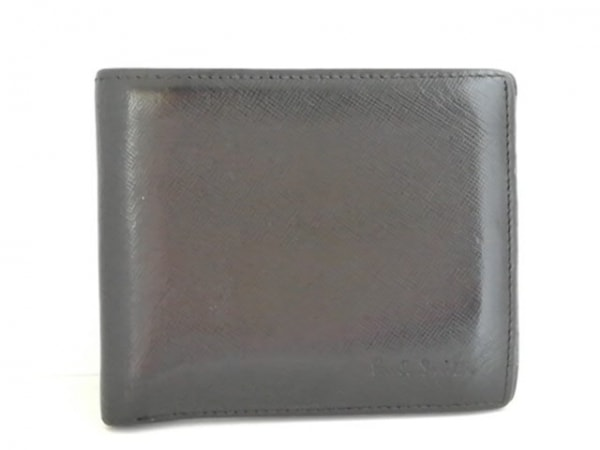 PaulSmith(ポールスミス) 2つ折り財布 黒 レザー
