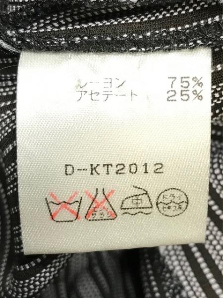 トラサルディー スカートセットアップ サイズ42 M レディース美品  ストライプ