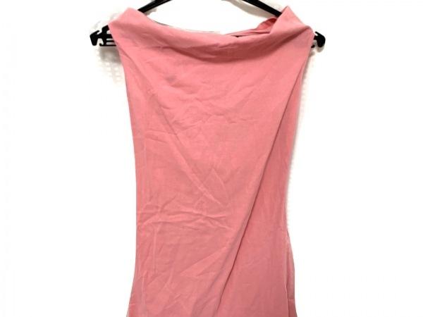 VERSUS(ヴェルサス) ワンピース サイズ38 M レディース美品  ピンク ラインストーン