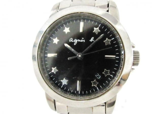 agnes b(アニエスベー) 腕時計 7N82-DFV0 レディース 黒