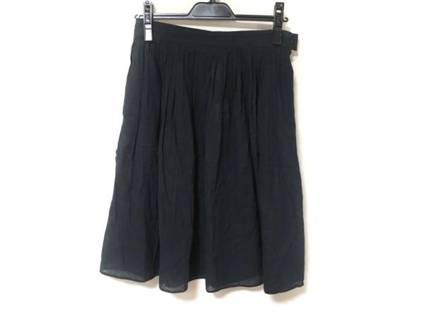 agnes b(アニエスベー) スカート サイズ38 M レディース ダークネイビー