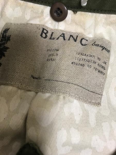 blanc basque(ブランバスク) ブルゾン サイズ38 M レディース美品  カーキ