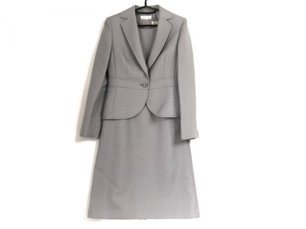 トウキョウソワール ワンピーススーツ サイズ9 M レディース美品  グレー 3点セット