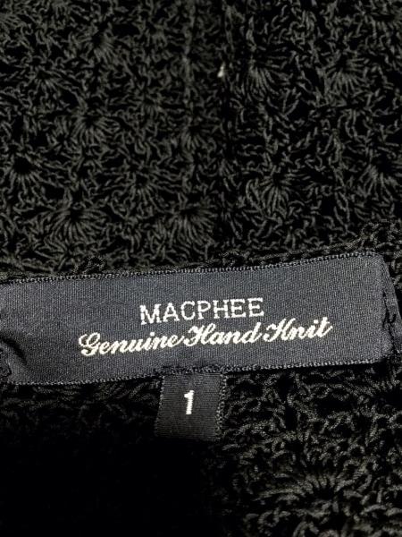 MACPHEE(マカフィ) チュニック サイズ1 S レディース 黒 レース 3