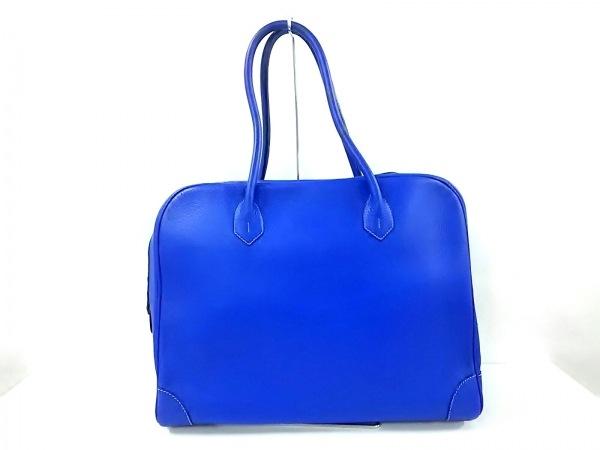 Cisei(シセイ) ハンドバッグ美品  ブルー レザー