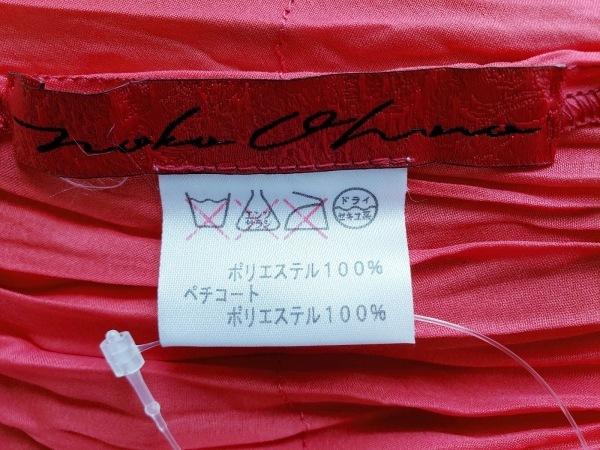 NOKO OHNO(ノコオーノ) スカート レディース レッド ティアード/シースルー