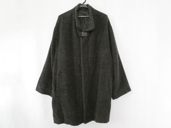 アドルフォドミンゲス コート サイズ48 XL メンズ ダークグレー 冬物