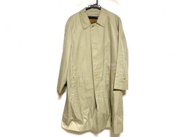 Burberry's(バーバリーズ) コート メンズ美品  ベージュ ネーム刺繍/春・秋物